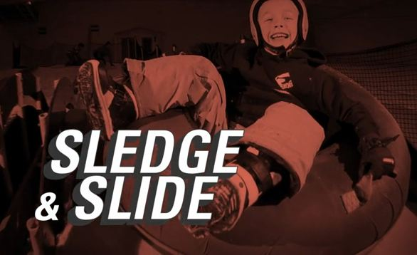 win a sledging session at xscape Milton Keynes